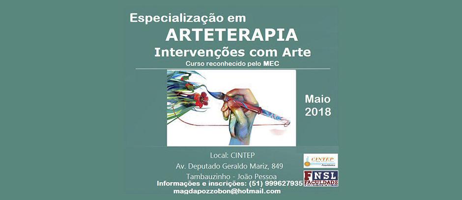 Especialização em Arte Arteterapia